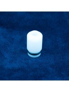 White Mini-me Drip Tip by Atmomixani
