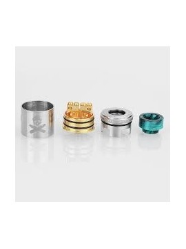 BONZA RDA 24MM BY VANDY VAPE SILVER
