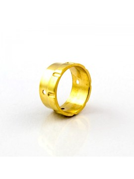 3D Air Control Ring 2x2mm Brass shined