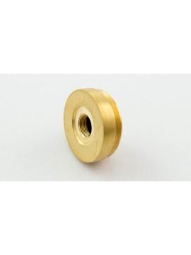 Nemesis flat upper cap brass matte