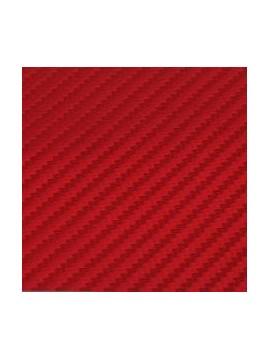 3D Carbon Sticker Red