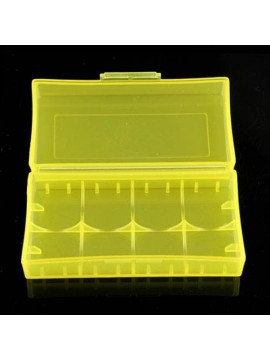UltraFire Battery Box/Carry Case Yellow